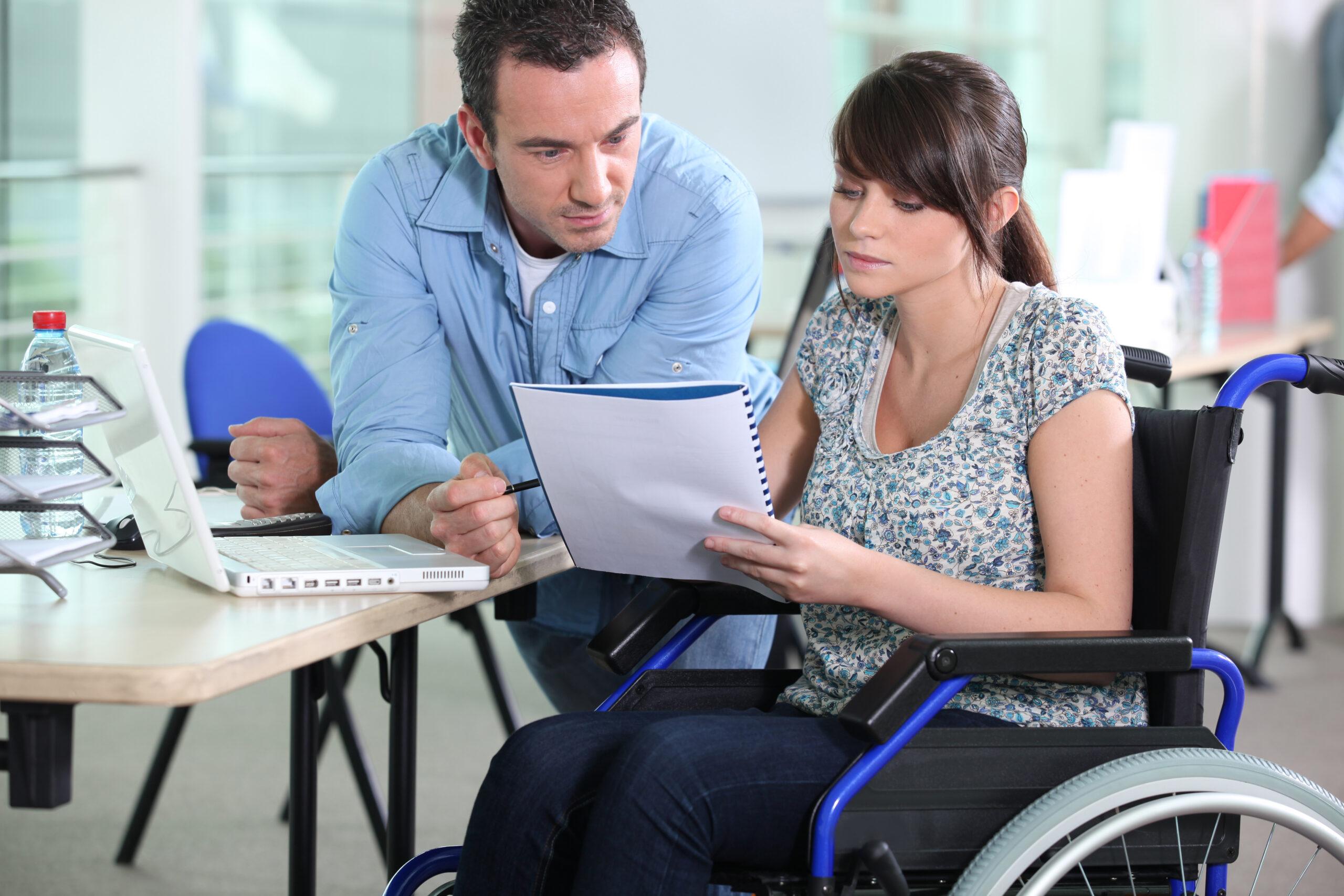 Arbeit für Menschen mit Behinderung